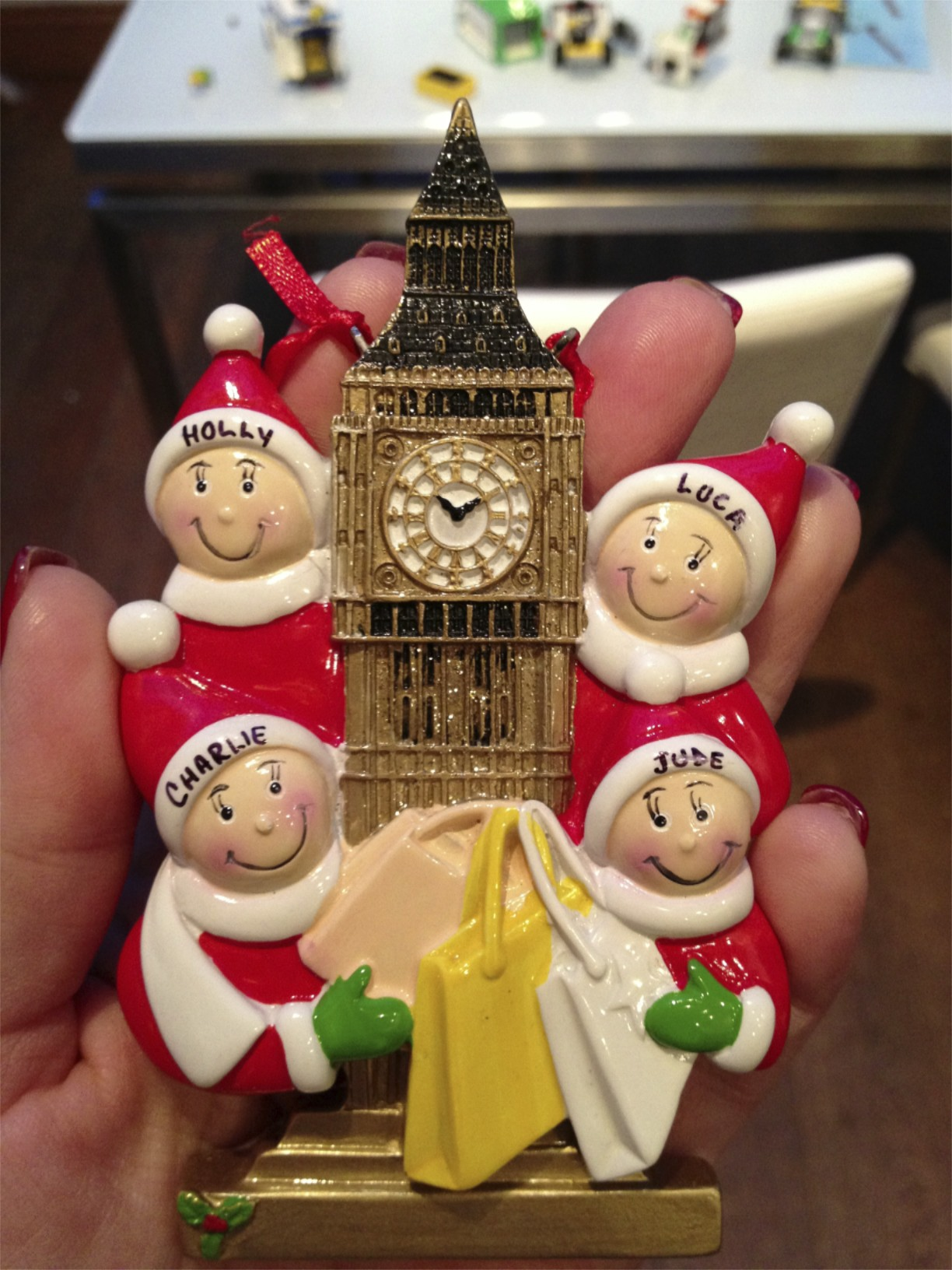 And I finalised the finishing touches for Christmas 2012. Our last Christmas in London.