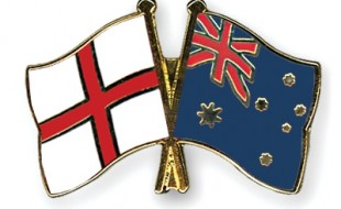 england aus flags