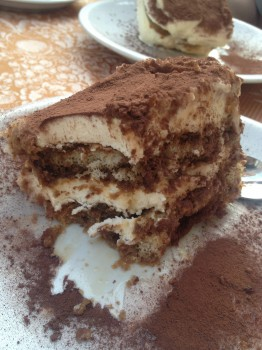 And I found perfection in the form of Tiramisu. The best I've ever had.