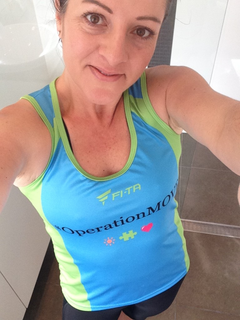 I booked my flight to Melbourne for the Marathon Festival in 2 weeks time. Lots of us from Operation Move are running the half marathon so I road tested our running top!