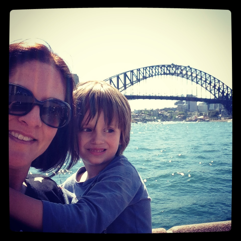 I spent an afternoon Australianising my kids ....