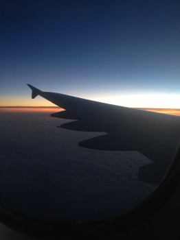 We flew into Sydney feeling much more refreshed having layed down most of the way