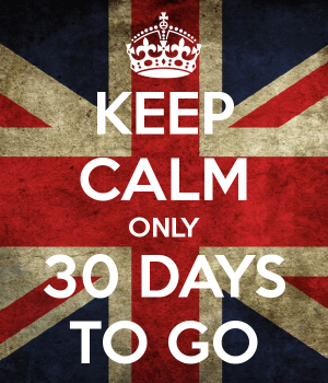keep calm 30 days