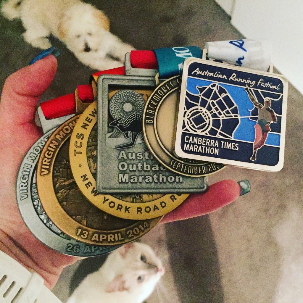 After a 350 thousand hour drive we finally got back to Sydney and I added my medal to my ever-growing bling family. Best week ever.